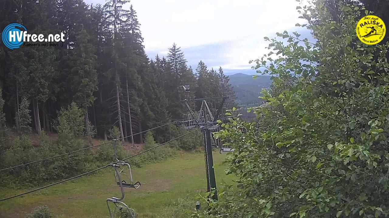 Sjezdovka Rališka na Horní Bečvě