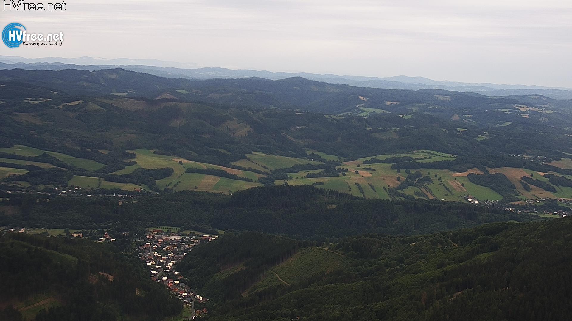 webkamera - Beskydy - Pustevny - Radhošť
