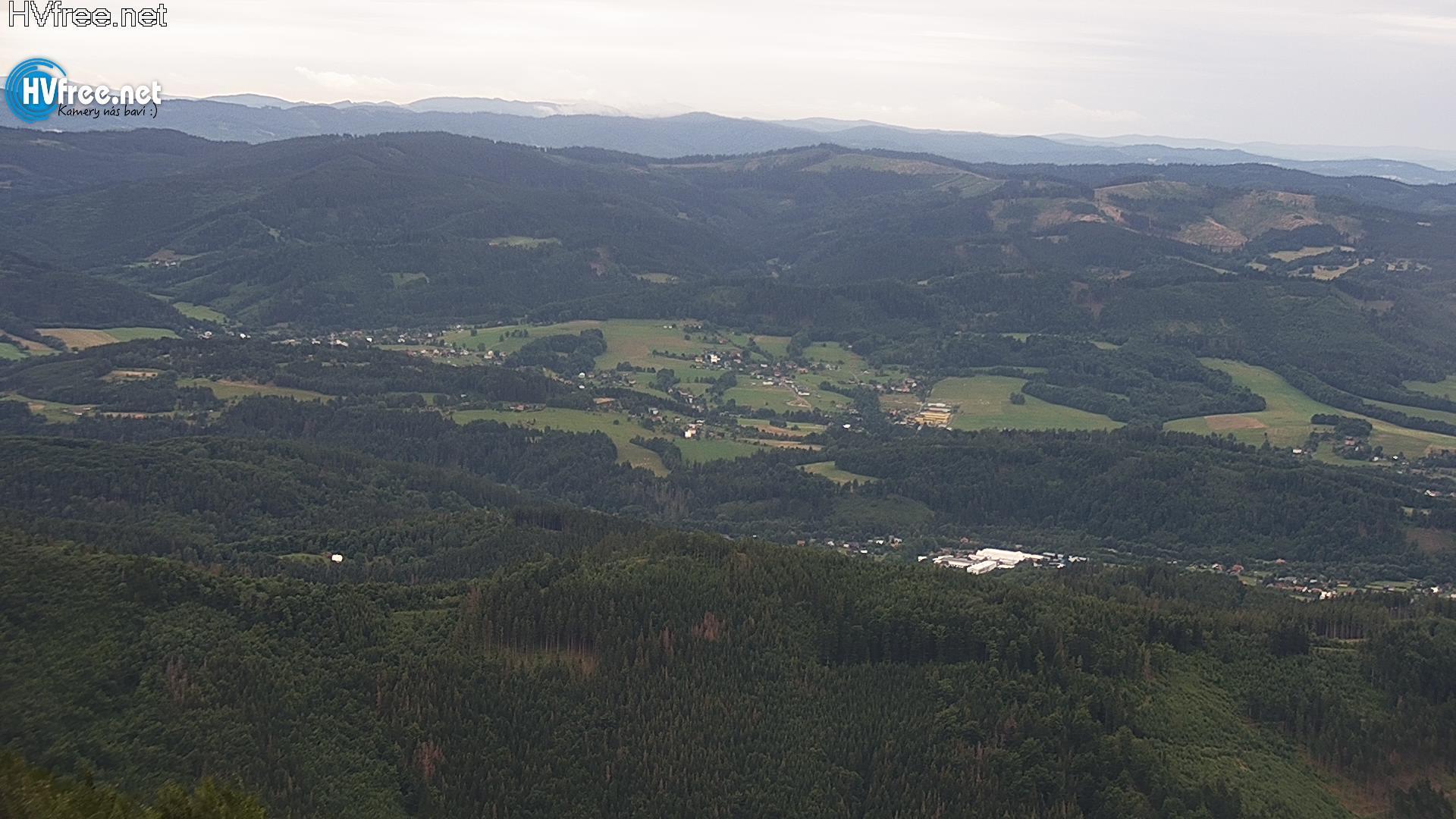 Webcam Skigebied Pustevny cam 4 - Beskiden